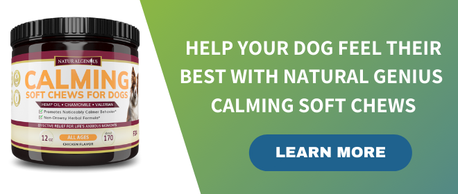Calming Soft Chews by Natural Genius
